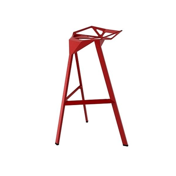 Stołek barowy Gap czerwony DK-3336