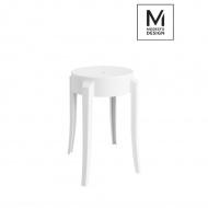 Stołek Calmar Modesto Design biały
