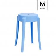 Stołek Calmar Modesto Design niebieski