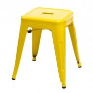 Stołek D2 Paris żółty