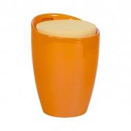 Stołek Ese Kokoon Design pomarańczowy
