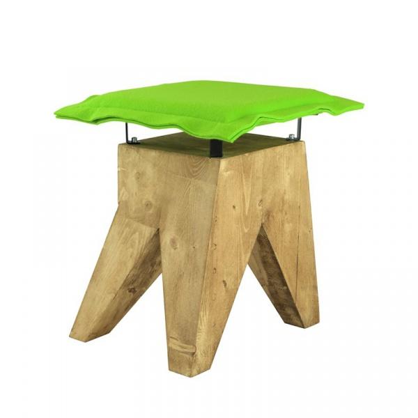 Stołek Gie El Botanica zielony FST0016