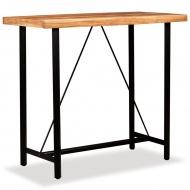 Stolik barowy, drewno sheesham, 120x60x107 cm