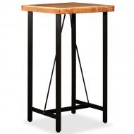 Stolik barowy, drewno Sheesham, 60x60x107 cm
