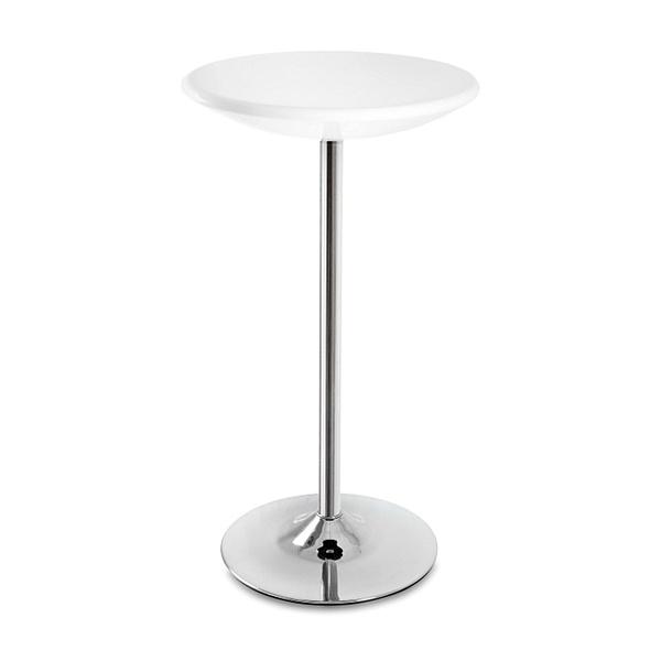 Stolik barowy UNIQUE Round white 3-04-0