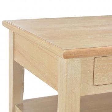 Stolik kawowy 100 x 50 x 40 cm drewniany