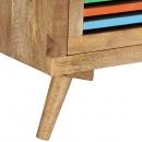 Stolik kawowy, 100x60x30 cm, lite drewno mango