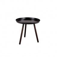 Stolik kawowy-taca Sticks Nordifra 50cm czarny