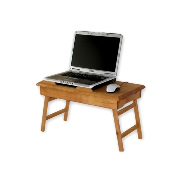 Stolik Pod Laptopa Z Szufladką Comfordable Xxl Naturalny
