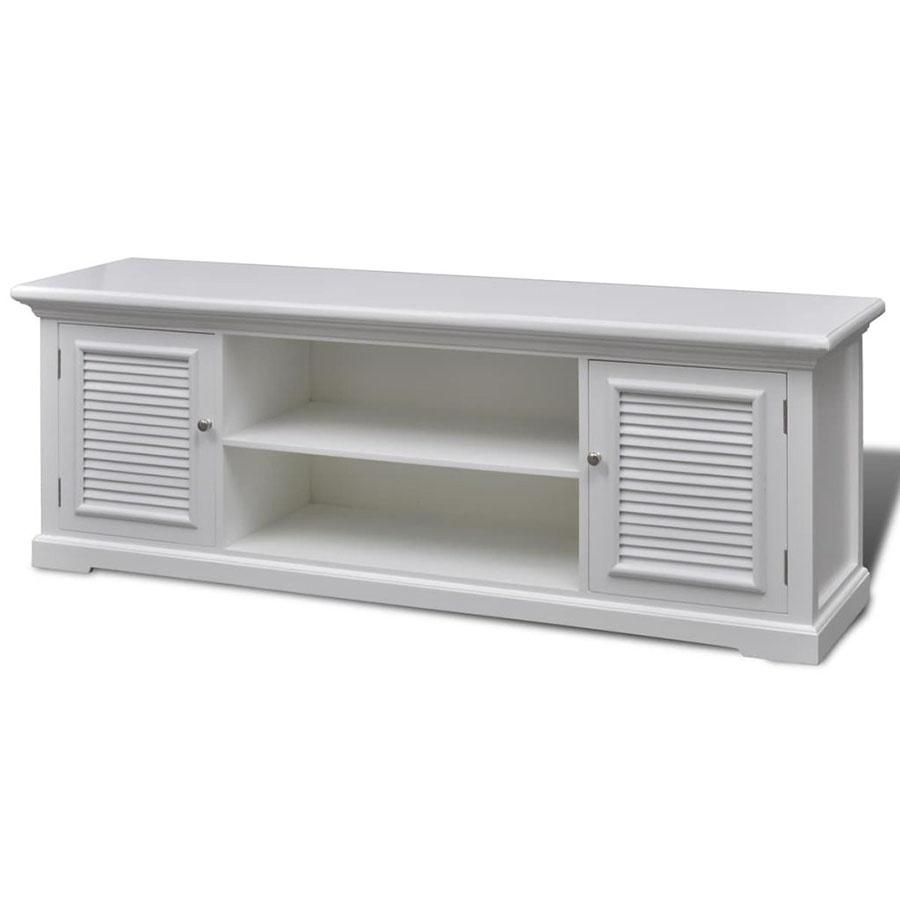 Stolik pod TV drewniany biały kod: V-241373 + Z NAMI NIE RYZYKUJESZ