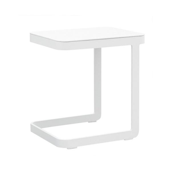 Stolik pomocniczy 47x40x50 cm Miloo Home Ibiza biały ML5631