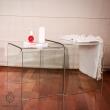 Stolik szklany King Bath Priam Duo przezroczysty K-004