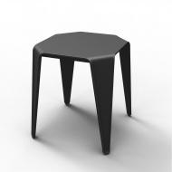 Stolik tarasowy Elba 45 : Kolor - czarny