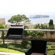 Stolik z pojemnikiem na balkon Balkonzept Rephorm grafitowy RB001