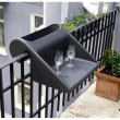 Stolik z pojemnikiem na balkon Balkonzept Rephorm mango RB003