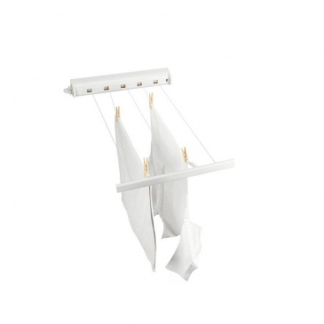 Suszarka łazienkowa rozciągana 22m biała - Brabantia
