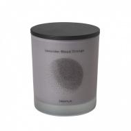 Świeca zapachowa Lavender Blood Orange 10,5x9cm Blomus FLAVO jasnoszara