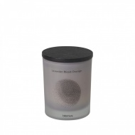 Świeca zapachowa Lavender Blood Orange 8x7cm Blomus FLAVO jasnoszara