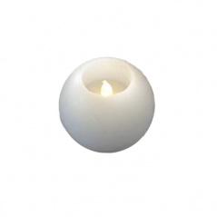 Świece białe LED 2szt Sirius Mona