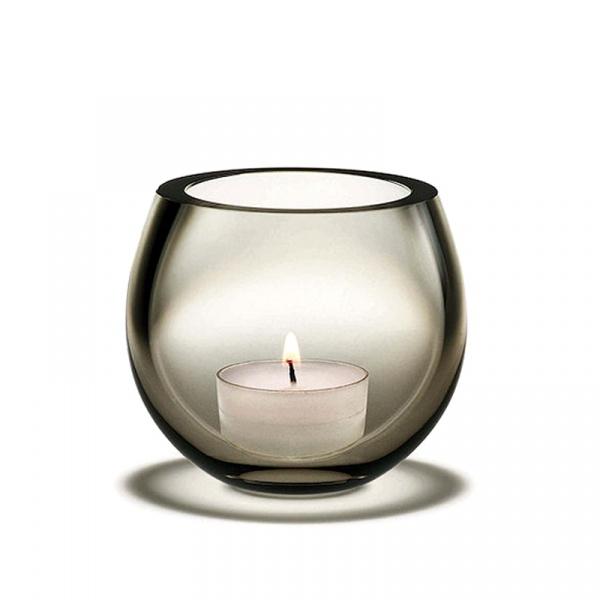 Świecznik tealight Holmegaard Cocoon grafitowy 4343301