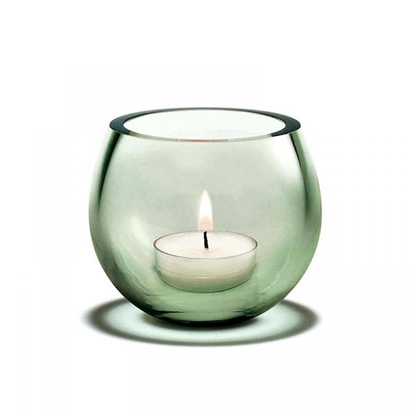 Świecznik tealight Holmegaard Cocoon zielony 4343307