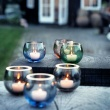 Świecznik tealight Holmegaard Cocoon żółty 4343306