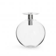 świecznik/wazonik, wys. 18 cm, srebrny