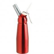 Syfon do spieniania zimnych i gorących musów 0,5 L Mastrad czerwony