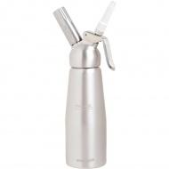 Syfon do spieniania zimnych i gorących musów 0,5 L Mastrad srebrny