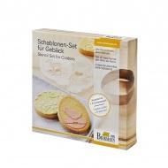 Szablony do dekoracji ciasteczek Birkmann Wielkanoc
