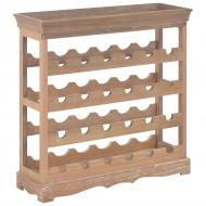 Szafka na wino, brązowa, 70x22,5x70,5 cm, MDF