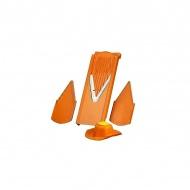 Szatkownica z uchwytem 5x13x37cm Borner V3 pomarańczowa