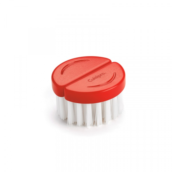 Szczoteczka do czyszczenia grzybów Cuisipro czerwona CU-747319