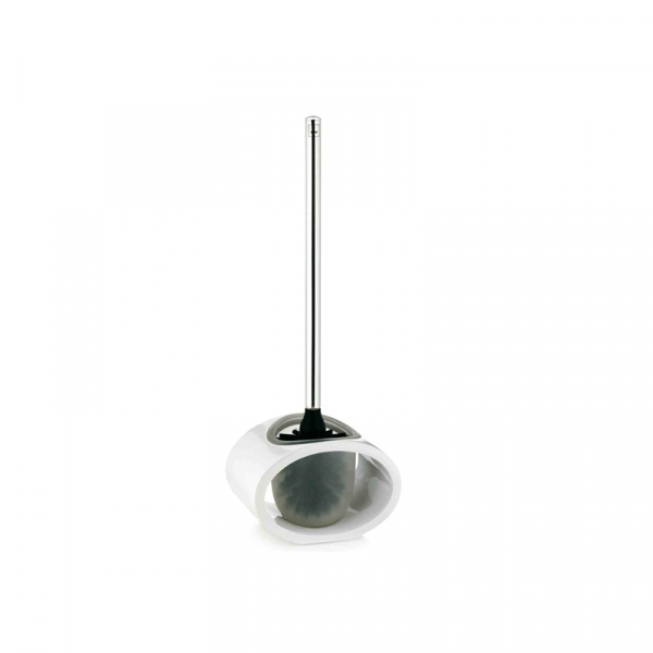 Szczotka do WC Kela Mirage biała KE-22409