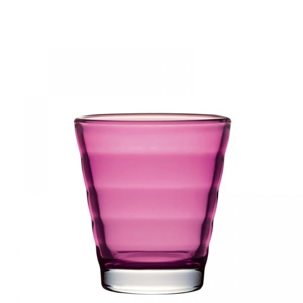 Szklanka 0,25 L Leonardo Wave różowa 049266
