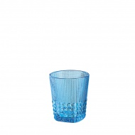 Szklanka 300 ml Cilio Crystal Line błękitna