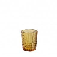 Szklanka 300 ml Cilio Crystal Line bursztynowa