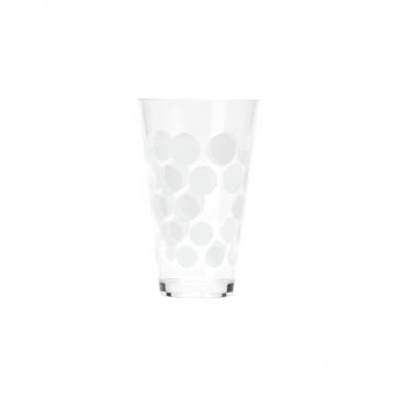 Szklanka 300 ml Zak! Designs Dot biała