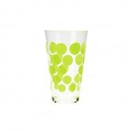 Szklanka 300 ml Zak! Designs Dot zielona
