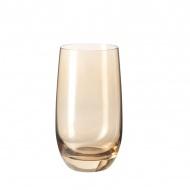 Szklanka 390 ml Leonardo Colori brązowa