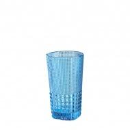 Szklanka 400 ml Cilio Crystal Line błękitna