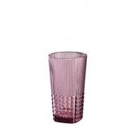Szklanka 400 ml Cilio Crystal Line różowa