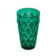 Szklanka 450ml Koziol Crystal L szmaragdowa zieleń