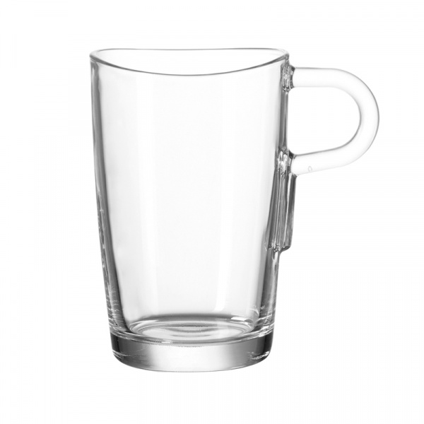 Szklanka do latte machiatto z uszkiem Leonardo Loop 043366