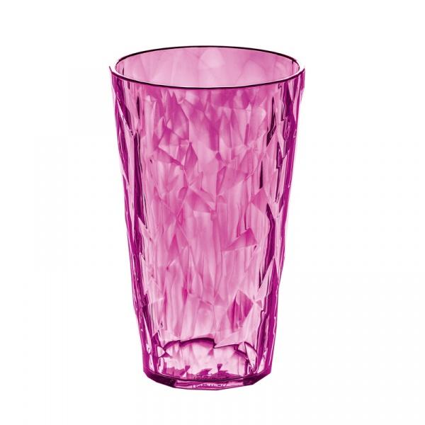 Szklanka na zimne napoje 0,45 L Koziol CRYSTAL 2.0 różowa KZ-3578507