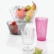 Szklanka na zimne napoje 450 ml Koziol CRYSTAL 2.0 pomarańczowo-czerwona KZ-3578509