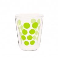 Szklanka termiczna 200 ml Zak! Designs Dot zielona