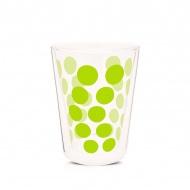 Szklanka termiczna 350 ml Zak! Designs Dot zielona