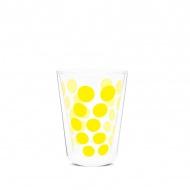 Szklanka termiczna 350 ml Zak! Designs Dot żółta