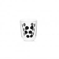 Szklanka termiczna 75 ml Zak! Designs Dot czarna
